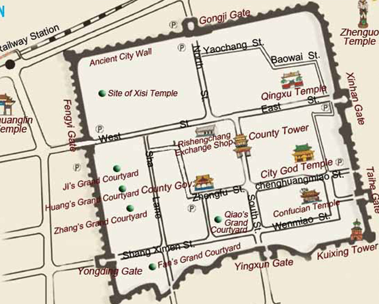City-Map-of-Pingyao