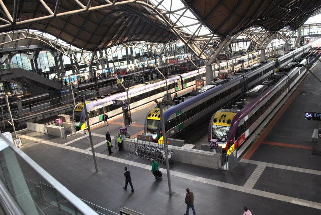 The Southern Cross Station Melbourne