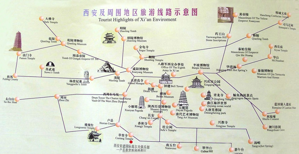 xian-city-tourist-map-chinese