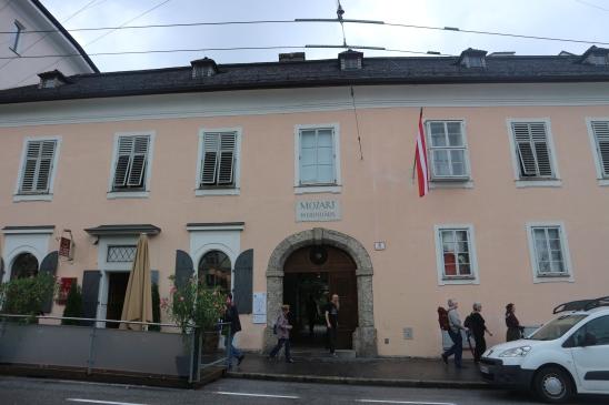 Mozart Wonhaus rumah kediaman Mozart